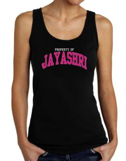 Property Of Jayashri Tank Top Women