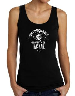 Untouchable Property Of Nasnan - Skull Tank Top Women