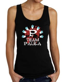 Team Paula - Initial Tank Top Women