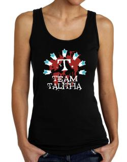 Team Talitha - Initial Tank Top Women
