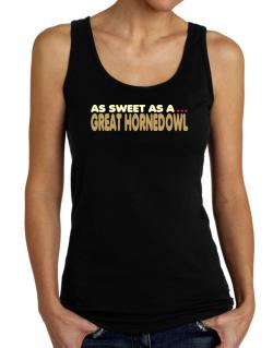 As Sweet As A Great Horned Owl Tank Top Women