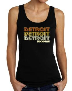 Detroit State Tank Top Women
