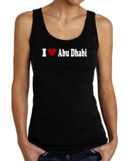 I Love Abu Dhabi Tank Top Women