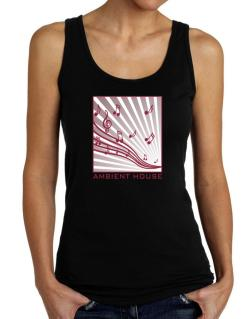 Ambient House - Musical Notes Tank Top Women