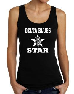 Delta Blues Star - Microphone Tank Top Women