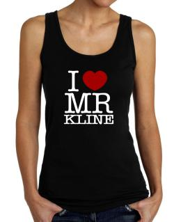 I Love Mr Kline Tank Top Women