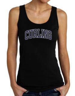 Curling Athletic Dept Tank Top Women
