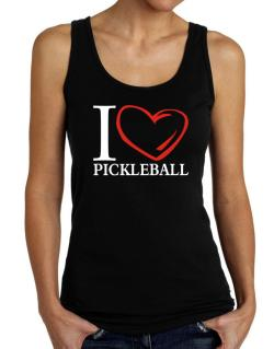 I Love Pickleball Tank Top Women
