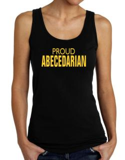 Proud Abecedarian Tank Top Women