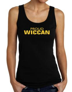 Proud Wiccan Tank Top Women