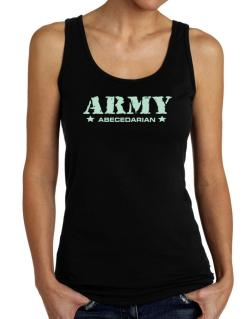 Army Abecedarian Tank Top Women