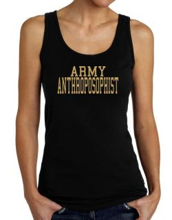 Army Anthroposophist Tank Top Women