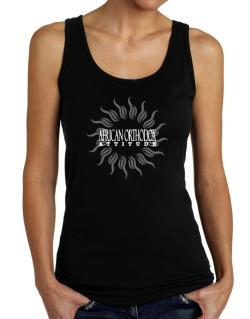 African Orthodox Attitude - Sun Tank Top Women
