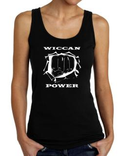 Wiccan Power Tank Top Women