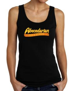 Abecedarian For A Reason Tank Top Women