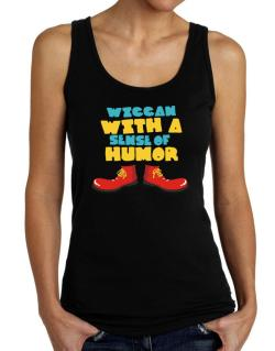 Wiccan With A Sense Of Humor Tank Top Women