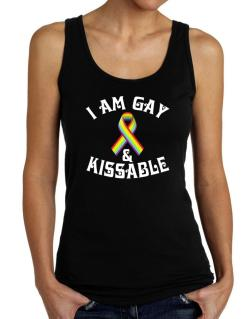 I Am Gay And Kissable Tank Top Women