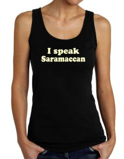 I Speak Saramaccan Tank Top Women