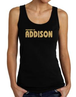 Property Of Addison Tank Top Women