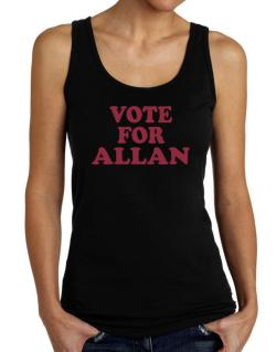 Vote For Allan Tank Top Women