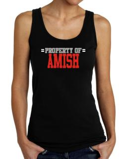 """ Property of Amish "" Tank Top Women"