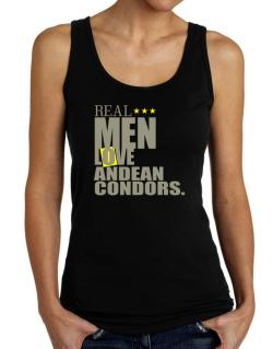 Real Men Love Andean Condors Tank Top Women