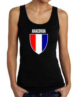 Anaconda Escudo Usa Tank Top Women