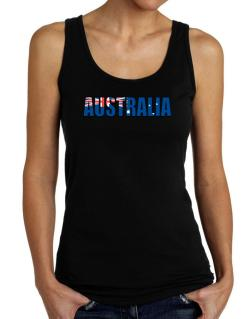 Australia Flag  Tank Top Women