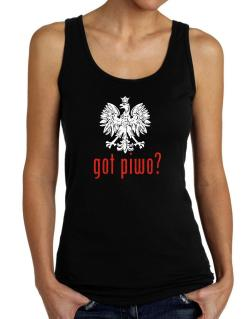 Got Piwo? Tank Top Women