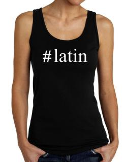 #Latin - Hashtag Tank Top Women