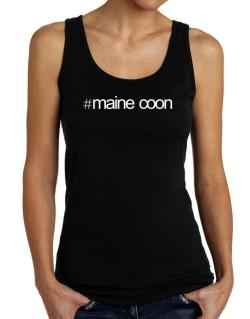Hashtag Maine Coon Tank Top Women