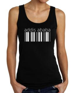 Addis Ababa barcode Tank Top Women