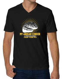 My Andean Condor Is More Intelligent Than Your Pet V-Neck T-Shirt
