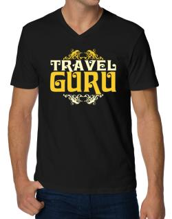 Travel Guru V-Neck T-Shirt
