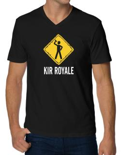 Kir Royale V-Neck T-Shirt