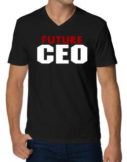 Future Ceo V-Neck T-Shirt