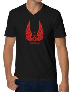 Acacallis - Wings V-Neck T-Shirt