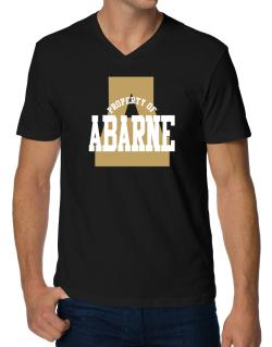 Property Of Abarne V-Neck T-Shirt