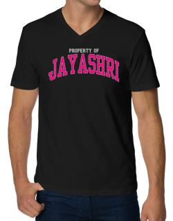 Property Of Jayashri V-Neck T-Shirt