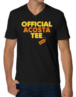 Official Acosta Tee - Original V-Neck T-Shirt