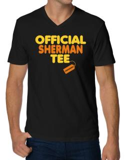 Official Sherman Tee - Original V-Neck T-Shirt