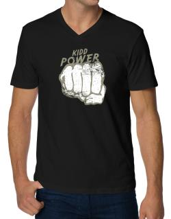 Kidd Power V-Neck T-Shirt