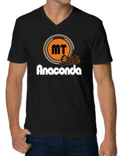 Anaconda - State V-Neck T-Shirt