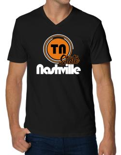 Nashville - State V-Neck T-Shirt