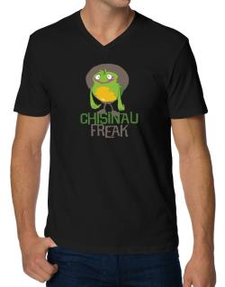 Chisinau Freak V-Neck T-Shirt