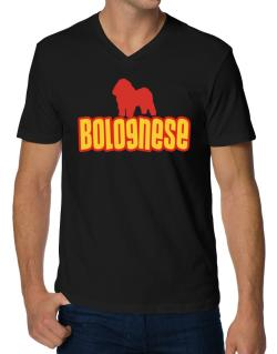 Breed Color Bolognese V-Neck T-Shirt