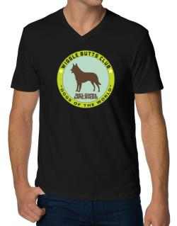 Belgian Malinois - Wiggle Butts Club V-Neck T-Shirt