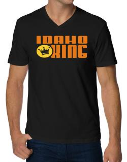 Idaho King V-Neck T-Shirt