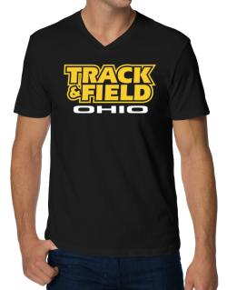 Track And Field - Ohio V-Neck T-Shirt