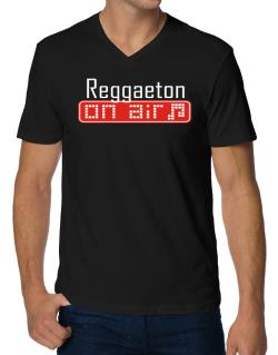 Reggaeton On Air V-Neck T-Shirt